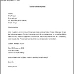 Download Charity Fundraising Letter Template in MS Word