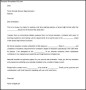 Download High School Letter of Intent Template Word Doc Example