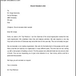 Download Letter Requesting Donations For Church
