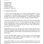 Download Recommendation Letter Sample Reference and Template