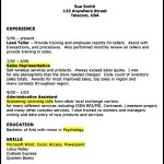 Download Resume Format for Retail Store Manager