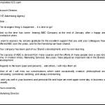 Download Retirement Announcement Letter to Clients