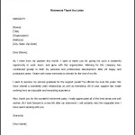 Download Retirement Thank You Letter Template Word Format