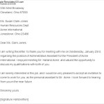 Download Thank You Letter after Phone Interview Rejection