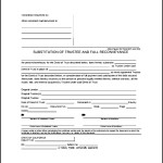 Downloadable Deed of Re-conveyance Form