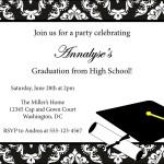 Downloadable Graduation Invitation Templates