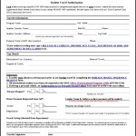 Downloadable Travel Authorization Form