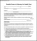 Durable Blank Power of Attorney Form For Health Care