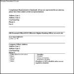 EEOC Discrimination Complaint Form