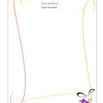 Easter Bunny Letter Template Doc