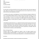 Editable Employee Termination Letter Job Abandonment