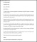 Editable Job Termination Letter to Employer