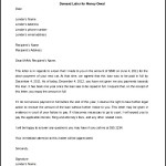 Editable Legal Letter Template for Money Owed Word Doc