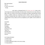 Editable Letter of Intent Word Doc Download