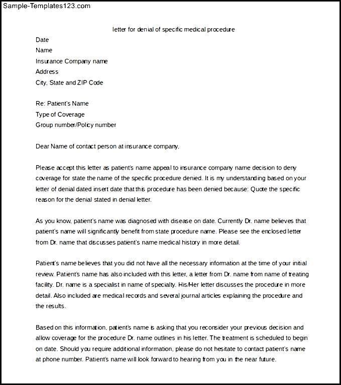Editable medical appeal letter templat word format sample editable medical appeal letter templat word format spiritdancerdesigns Images