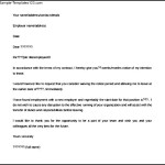 Editable Waiver of Notice Period resignation letter Template