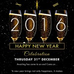 Elegant New Year Party Invitation, Greeting Card