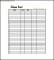 Elementary Class List Template Free