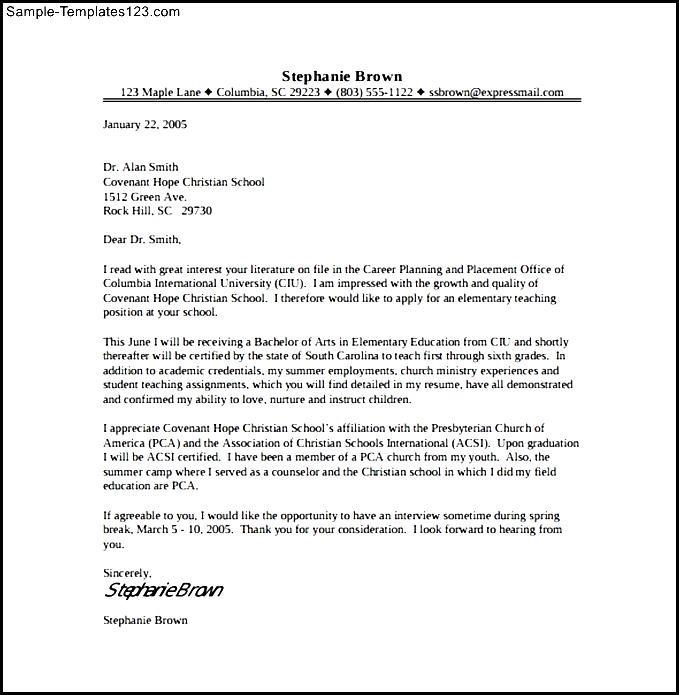 Entry level dietitian cover letter