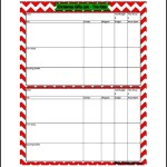 Email Christmas List Templates Free