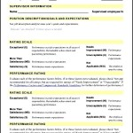 Employee Evaluation Form PDF  Template