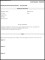 Employee Performance Review Form Template