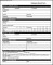 Employee Record Form Template