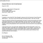 Employee Reference Letter Format Download
