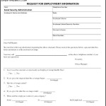 Employee Verification Form In PDF Download