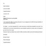 Employee Warning Letter