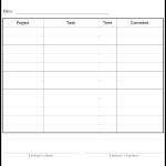 Employee Work Schedule Form Template