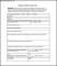 Employees Report of Injury OSHA Form