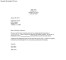 Employment Resignation Notice Letter
