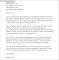 Employment Termination Letter Without Cause