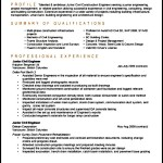 Entry Level Civil Engineer Resume