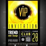 Event Invitation Template PSD