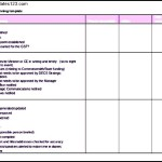 Event Planning Itinerary Template