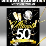 Example 50th Birthday Invitation Template