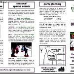 Example Birthday Party Activities Itinerary Free Template PDF Format