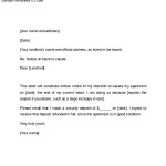 Example Of 60 Day Notice Letter