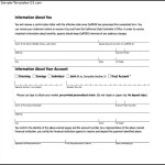 Example Of Direct Deposit Authorization Form