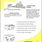 Example Real Estate Flyer Template