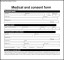 Example of Medical Consent Form