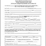 Expense Reimbursement Form PDF