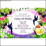 Fairy Dust Personalized Invitations