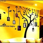 Family Photo Tree Decals Template