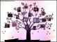 Family Photo Tree Wall Template