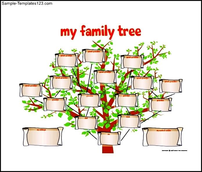 Family tree diagram free pdf format sample templates sample family tree diagram free pdf format ccuart Images