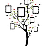 Family Tree Photo in Vector EPS Format