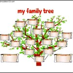 Family Tree Template for Kids Free PDF Format